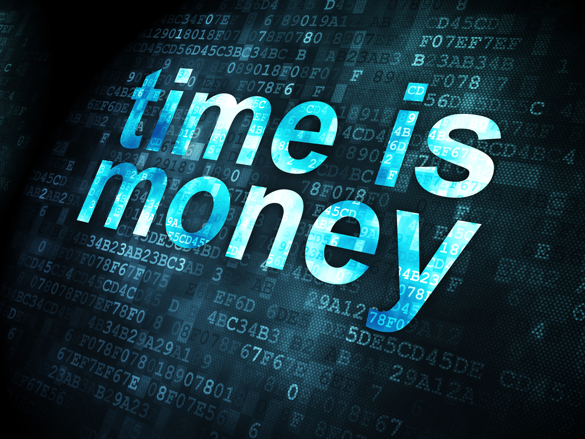 When time is money, accurate accounts saves time.